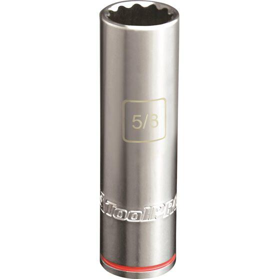 ToolPRO Single Socket - Deep, 1 / 2 inch Drive, 5 / 8 inch, , scaau_hi-res