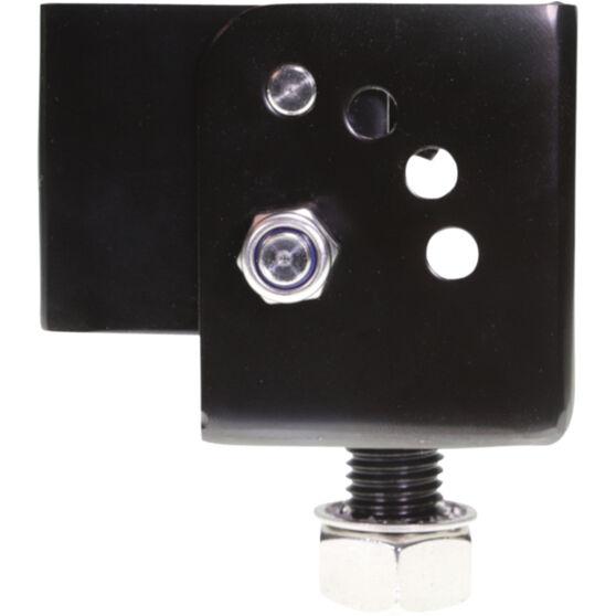 Aerpro Folding UHF Aerial Bracket Stainless Steel Black CBBF1B, , scaau_hi-res