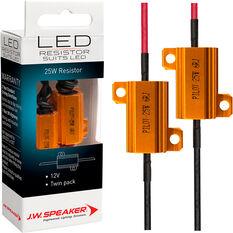 JW Speaker Load Resistor - LED, 12V, 25W, , scaau_hi-res