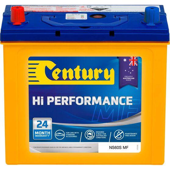 Century Hi Performance Car Battery NS60S MF, , scaau_hi-res