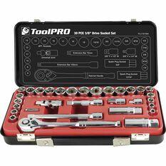 "ToolPRO Socket Set 3/8"" Drive Metric/SAE 30 Piece, , scaau_hi-res"
