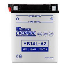 Century Powersports Battery YB14L-A2, , scaau_hi-res