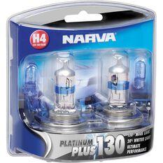Narva Headlight Globe, Plus 130 - H4, 60 / 55W, , scaau_hi-res
