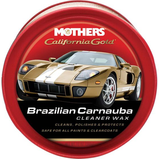 Mothers California Gold Brazilian Carnauba Cleaner Wax - 340g, , scaau_hi-res