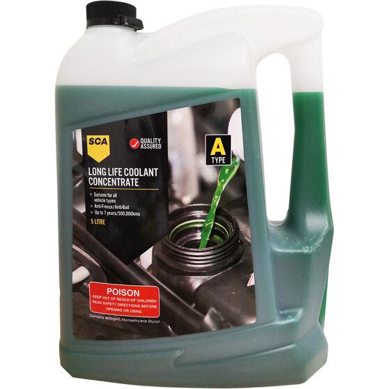 SCA Anti-Freeze/Anti-Boil Concentrate Coolant Green - 5 Litre, , scaau_hi-res