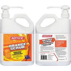 Septone Orange Scrub Hand Cleaner - 2.5 Litre, , scaau_hi-res