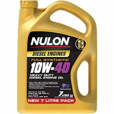 Nulon Full Synthetic 10W-40 Heavy Duty Diesel Engine Oil 7L, , scaau_hi-res