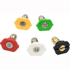 ToolPRO Pressure Washer Replacement Nozzles 5 Pack, , scaau_hi-res