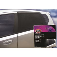 SCA Window Shade - Side, Large Curved, Black, Pair, , scaau_hi-res