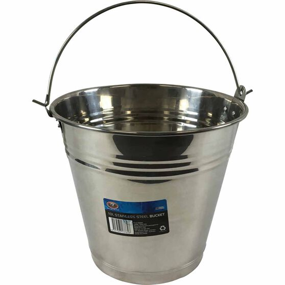 SCA Stainless Steel Bucket - 10 Litre, , scaau_hi-res