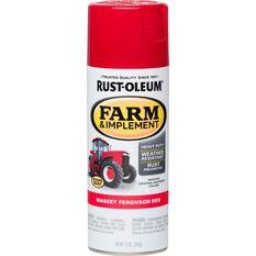 Rustoleum Aerosol Paint - Specialty Farm and Implement Enamel, Ferguson Red, , scaau_hi-res
