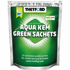 Aqua Kem Green Sachets - 12 Pack, , scaau_hi-res