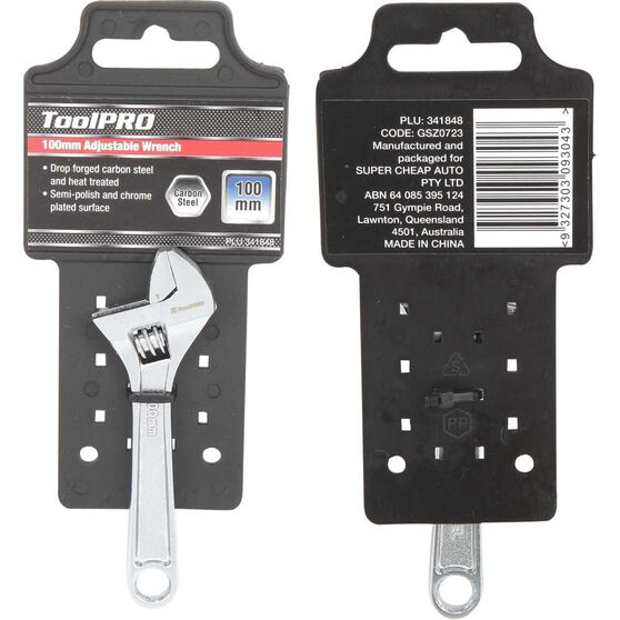 ToolPRO Adjustable Wrench - 4inch, , scaau_hi-res