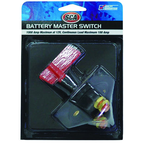 SCA Battery Master Switch - 12 Volt, 100 AMP, , scaau_hi-res