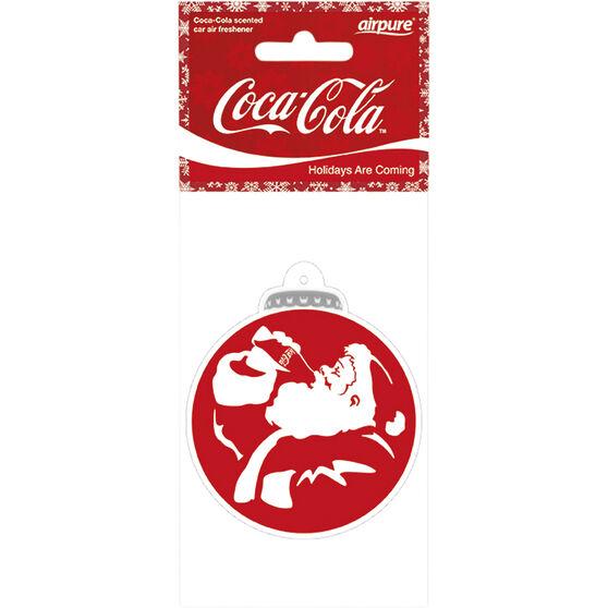 Coca-Cola Santa Bauble Air Freshener, , scaau_hi-res