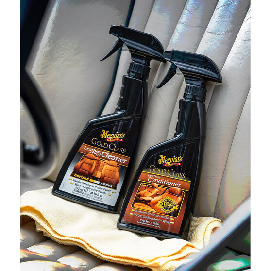 Meguiars Gold Class Leather And Vinyl Cleaner - 473mL, G18516, , scaau_hi-res