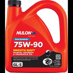 Nulon Smooth Shift Manual Transmission Oil - 75W-90, 4 Litres, , scaau_hi-res