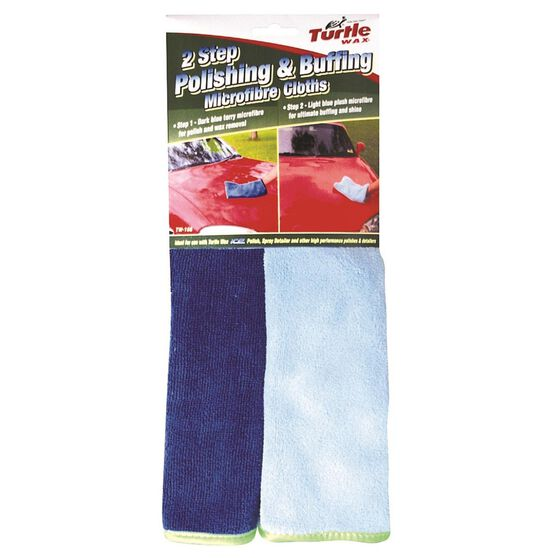 Turtle Wax Polishing and Buffing Towels - 2 Pack, , scaau_hi-res