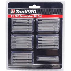 ToolPRO Driver Bit Set 21 Piece, , scaau_hi-res