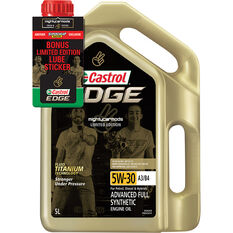 Castrol EDGE Engine Oil 5W-30 5 Litre Limited Edition Mighty Car Mods, , scaau_hi-res