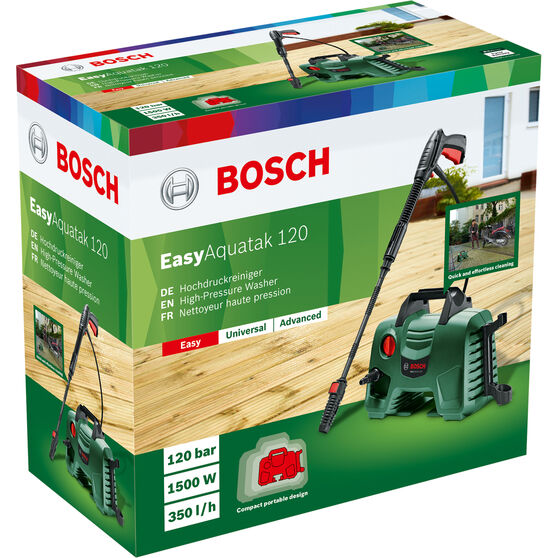 Bosch EasyAquatak 120 Pressure Washer - 1740 PSI, , scaau_hi-res