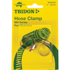 Tridon Hose Clamps - Part Stainless, 14-27mm, 2 Pieces, , scaau_hi-res