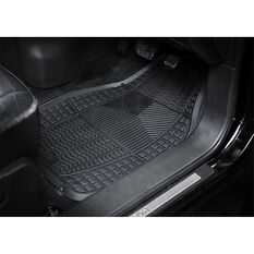 Armor All Car Floor Mats Black Set of 4, , scaau_hi-res