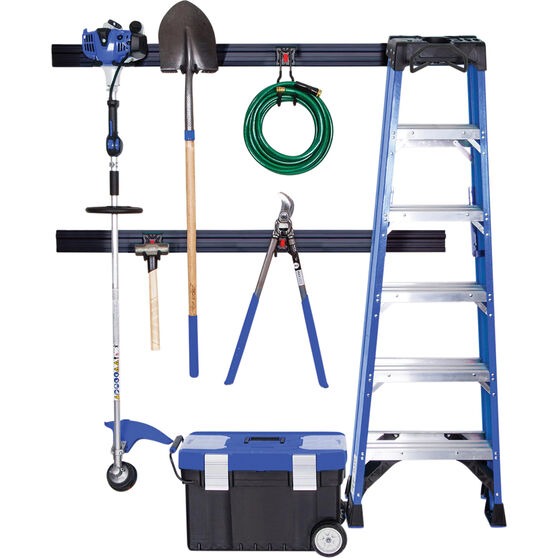 SCA Garage Wall Organization Kit, 12 Piece, , scaau_hi-res