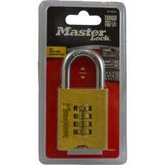 Master Lock Brassl Reset Combination - 50mm, 1 Pack, , scaau_hi-res