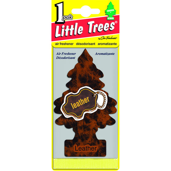 Little Trees Air Freshener - Leather, , scaau_hi-res