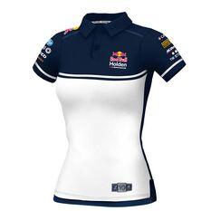 RedBull Holden Racing Team Women's 2020 Polo White / Navy 8, White / Navy, scaau_hi-res