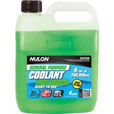 Nulon General Purpose Premix Coolant 4 Litre, , scaau_hi-res