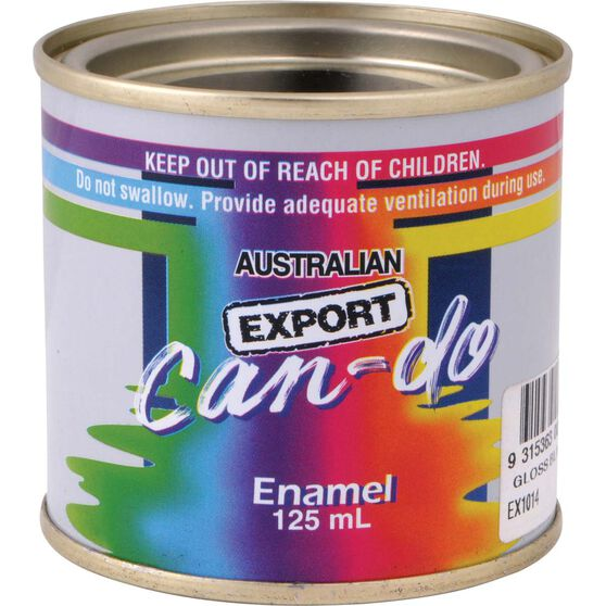 Can Do Paint - Enamel, Gloss Red, 125mL, , scaau_hi-res