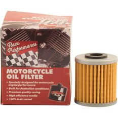Race Performance Motorcycle Oil Filter - RP116, , scaau_hi-res