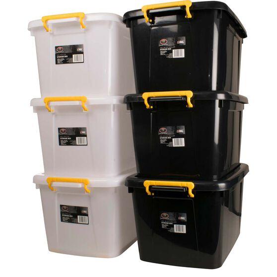SCA Storage Roller Box - 45 Litre, Black, , scaau_hi-res