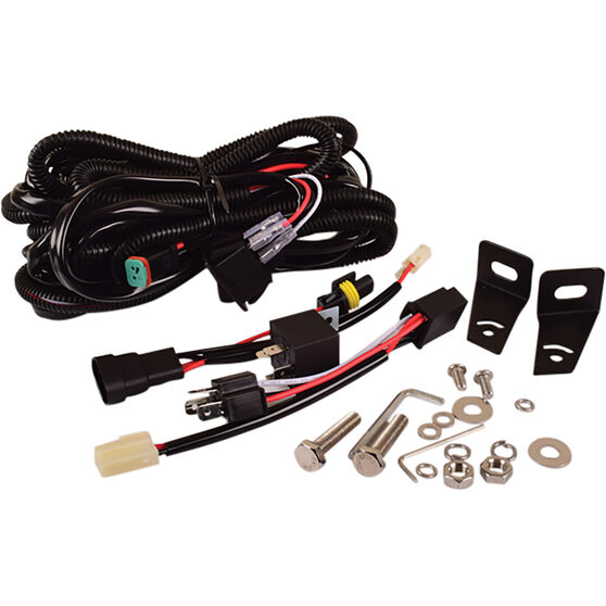 """Driving Light Combo Kit - 9"""" Driving Lights, 21"""" Driving Light, LED, with Harness, , scaau_hi-res"""