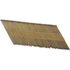 Air Framing Nail, Galvanised Steel - 75mm, 1000 Pack, , scaau_hi-res