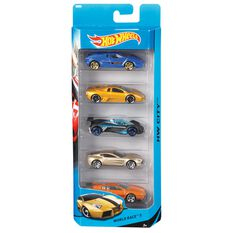 Hot Wheels - Five Car, Assorted, , scaau_hi-res