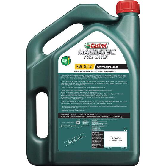 Castrol MAGNATEC Fuel Saver Engine Oil 5W-30 DX 5 Litre, , scaau_hi-res