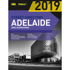 Gregory's UBD Adelaide Street Directory - 57th Edition, 2019, , scaau_hi-res