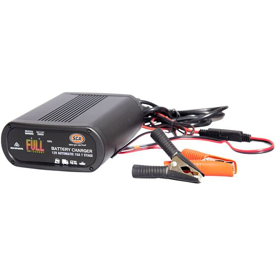 Sca 12v 15 Amp 7 Stage Battery Charger Supercheap Auto
