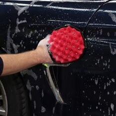 Turtle Wax Grip It Dual Action Wash Mitt, , scaau_hi-res