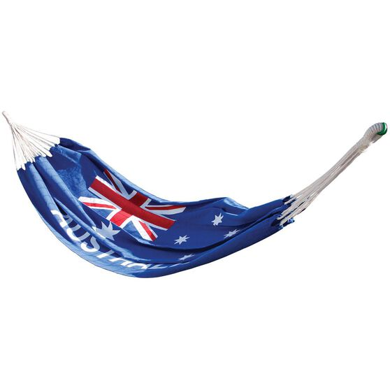 Australian Flag Hammock - 110Kg, 2.9m X 1m, , scaau_hi-res