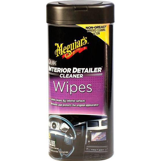 Meguiar's Quik Interior Detailer Wipes - 25 Pack, , scaau_hi-res