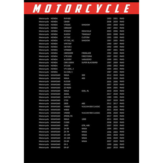 Race Performance Motorcycle Oil Filter RP303, , scaau_hi-res