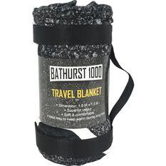SCA Bathurst Travel Blanket - Bathurst Map, 1.5m x 1.5m, , scaau_hi-res