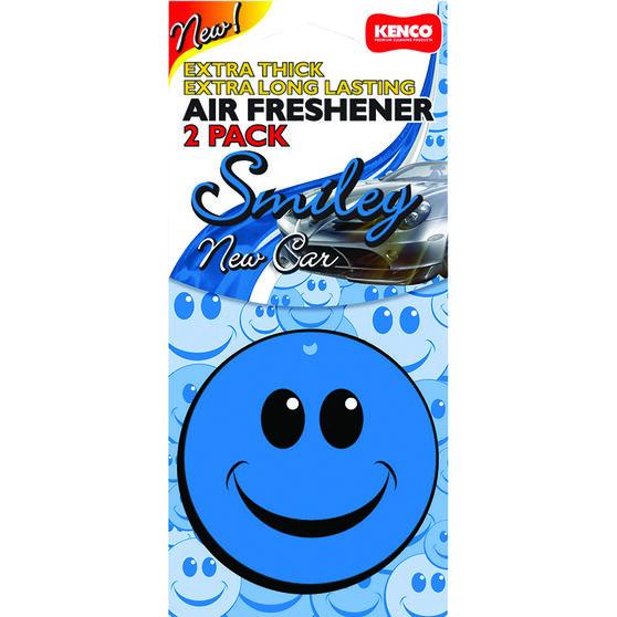 Kenco Air Freshener Smile - New Car, 2 Pack, , scaau_hi-res