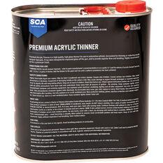 SCA Premium Acrylic Thinner 4 Litre, , scaau_hi-res