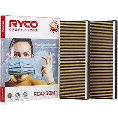 Ryco Cabin Air Filter N99 MicroShield RCA230M, , scaau_hi-res