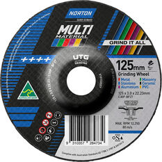 Norton Multi-material UTG Wheel 125mm, , scaau_hi-res
